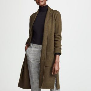 Madewell Camden Sweater-Coat Olive Green XXS